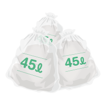 ゴミ袋 45リットル
